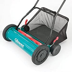 Gilmour Adjustable Hand Reel Mower with Grass Catcher by Jensen Distribution Services