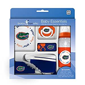 Baby Fanatic University of Florida Gators 5-piece Baby Gift Set, Team Colors, One Size