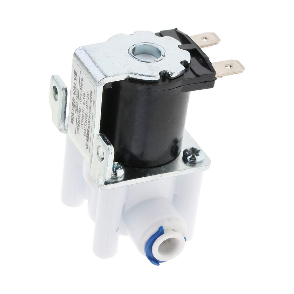perfk /Électrovanne /Électrique pour Purificateur deau R/éfrig/érateur Ferm/é 12V N//C,