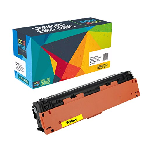 Do it Wiser Compatible Toner Cartridge for HP 201X HP CF402X for HP Color Laserjet Pro MFP M277dw M252dw MFP M277n M252n - High Yield Yellow