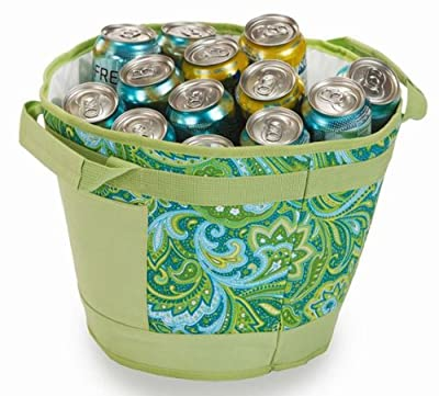 Picnic Plus Austin Table Top Insulated Leak Proof Ice Bucket Cooler