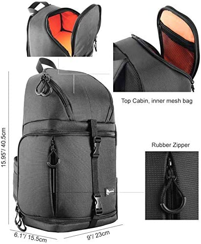 He-lanshangmaobu Fashion Camera case Camera Sling Bag Shoulder Cross Digital Case Waterproof Rain Cover DSLR Soft Men Women Bag for Canon Nikon Sony Color : Red