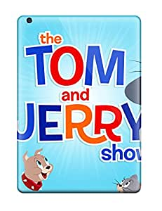 Ultra Slim Fit Hard ZippyDoritEduard Case Cover Specially Made For Ipad Air- The Tom And Jerry Show