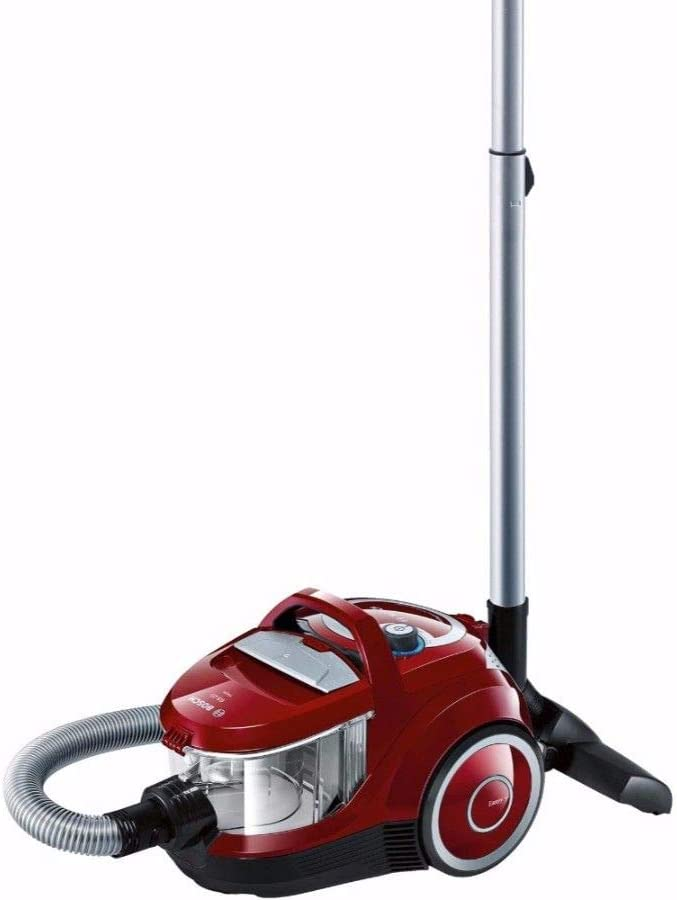 Bosch Bagless Canister Vacuum Cleaner, 700 W, Red - Bgs2230Gb
