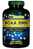 BCAA 2000 Branched Chain Amino Acids – 180 Tablets For Sale