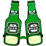 Brille Flasche Bier Spassbrille Beer