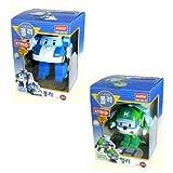 Robocar Poli + Robocar Helly (2 jouets transformable robot)