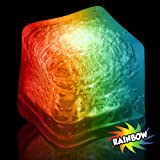 Multi Color Led Ice Cubes 12 per pack