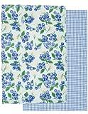 Now Designs Teatowels, Blueberries, Set of 2