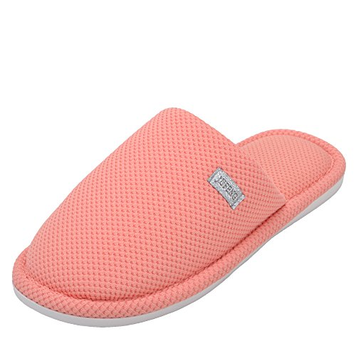 Womens Orange Heavy Breathable Cotton Earsoon New Warm Duty XL17001 knnited Slipper Slipper Cotton 2018 Collection Ladies Slected Winter House afqawUzB