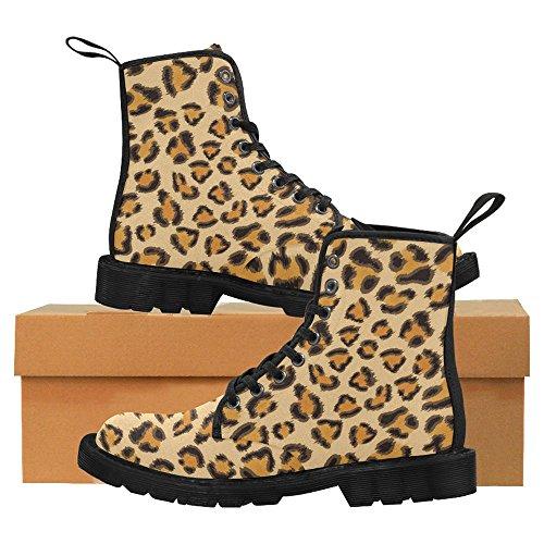 InterestPrint Womens Boots Unique Designed Comfort Lace Up Boots Multi 9 v3TLN3M