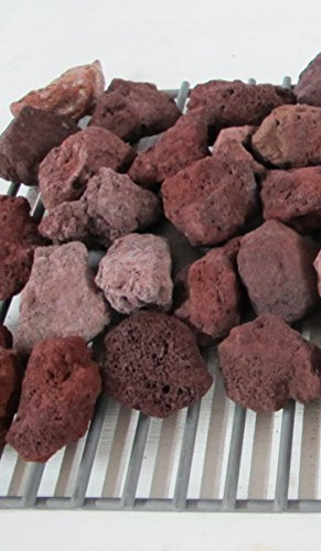 Grill Briquettes Gas (BBQ Lava Rock (7 Pounds))
