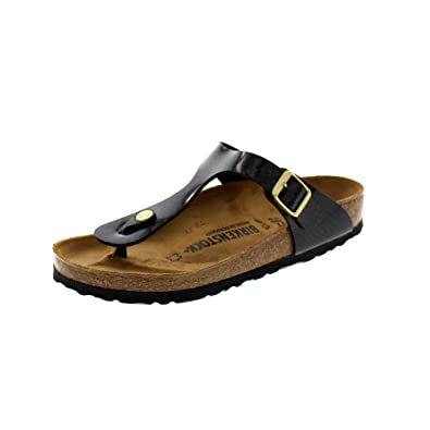 5ac3c3e847ae Birkenstock Shoes - Gizeh 1009113 - Magic Snake Black  Amazon.co.uk  Shoes    Bags