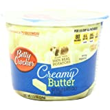 Betty Crocker Microwaveable Mashed Potato Cup, Creamy Butter, 1.2 Ounce (Pack of 12)