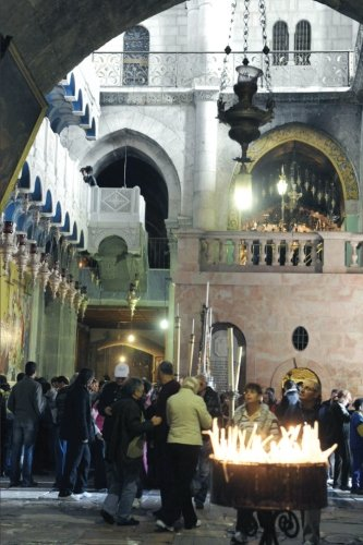 Christian Travel Journal: Inspiring Cover - Church of the Holy Sepulchre, Old City of Jerusalem - Prayer Journal, Travel Journal - 150 Lined Pages (Israel Series) (Volume 2)