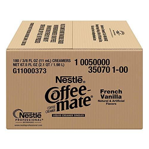 Nestle Coffee-mate Coffee Creamer, French Vanilla, liquid creamer singles, Pack of 900 by Nestle Coffee Mate (Image #3)