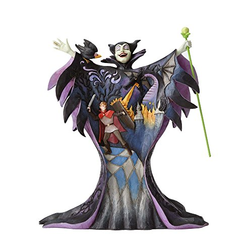 Enesco Disney Traditions by Jim Shore Maleficent with Scene Figurine -
