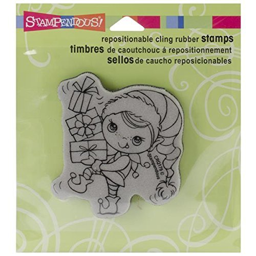 Stampendous, Cling Rubber Stamp, Giftrs Kiddo by STAMPENDOUS