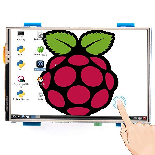 Padarsey for Raspberry PI 3 Generation TFT Touch Screen 3.5 inch TFT LCD Display Monitor Support All Raspberry PI System, Video Movie Play, Arcade Game, HDMI Audio Input SC6A ()