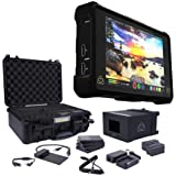Atomos Shogun Inferno 7 with Accessories Kit - Includes 2x Batteries with Fast Charger, 4x Master Caddies, Docking Station, HDR Sunhood, Power Supply, Control Cable, and Hard Case