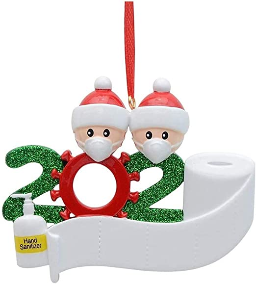 Character Christmas Tree Ideas 2020 Amazon.com: ZZpioneer 2020 Survived Family Christmas Hanging