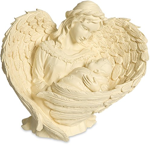Beauty Angel Plaque (Angelstar 6-1/4-Inch Angel and Baby Figurine, Essence of)