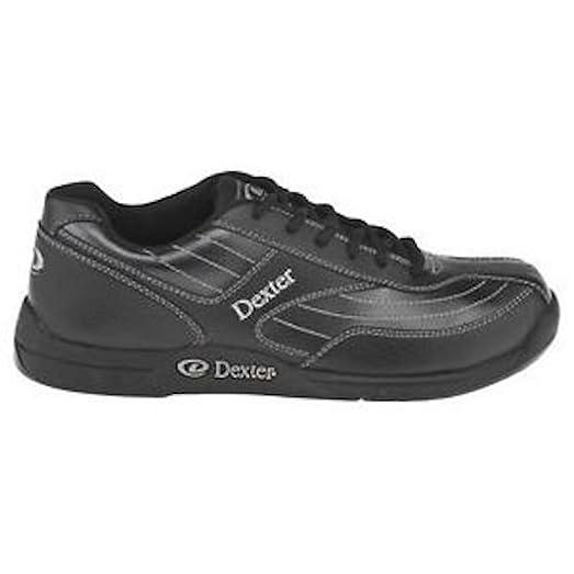 Men's Fury II Black/Alloy Grey Bowling Shoes 10 Wide Width