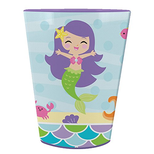 Creative Converting Mermaid Friends 16 oz Plastic Favor Cup