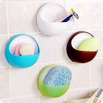 Amazoncom Delma Plastic Wall Mounted Soap Holdersoap Dish Soap