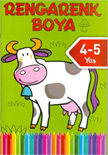 Rengarenk Boya 4 5 Yas Yesil Kitap Kolektif 9786050908817