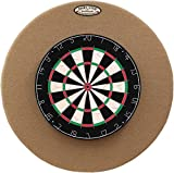 29'' Professional Dartboard Backboard, Round (Tan)