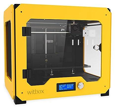 BQ WitBox - Impresora 3D, Color Amarillo: Amazon.es: Informática