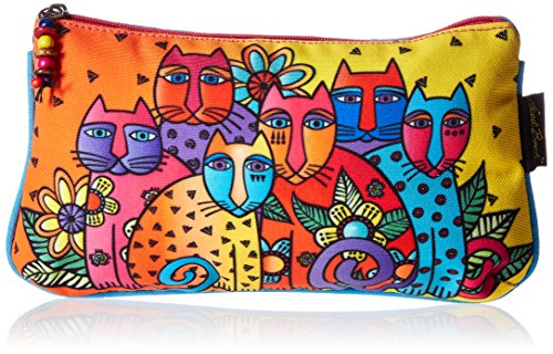 - Laurel Burch Cosmetic Bag Set, Feline Clan, 3-Pack