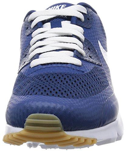 Nike Air Max 90 Ultra Essential, Scarpe da Ginnastica Uomo Blu (Coastal Blue / White-cstl Blue) (Bianco-blu)
