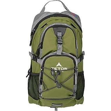 TETON Sports Oasis 1100 Hydration Backpack, Green