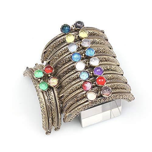 Bronze Metal Frame Purse Coin Bag Kiss Clasp Lock DIY Craft Assorted Lotus Bead Bronze 10PCS 8.5X4.5CM