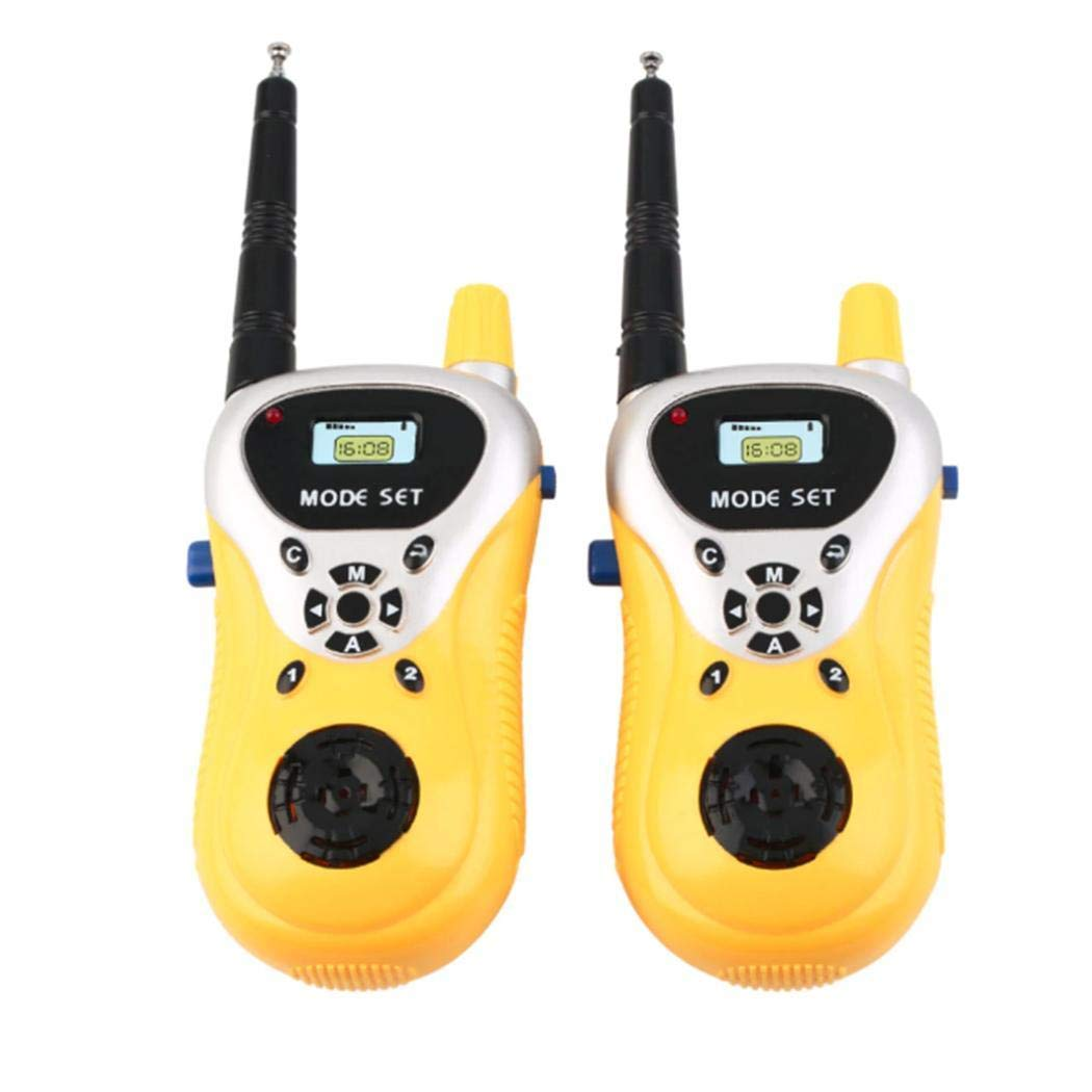 hiriyt Kids Mini Electronic Portable Handheld Two-Ways Radio Walkie Talkie Toy Walkie Talkies