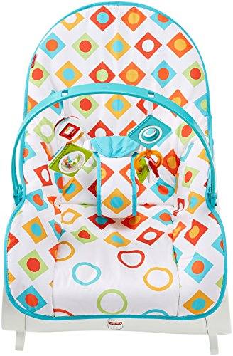 Fisher Price Infant To Toddler Rocker Geo Diamonds Baby