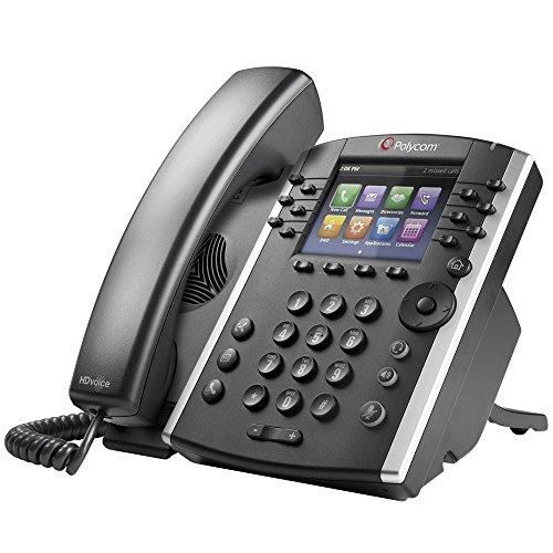 VVX 411 12-Line IP Phone Gigabit PoE -