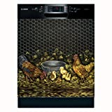 dishwasher magnet farm - Appliance Art Rooster Family (Large) Dishwasher Cover