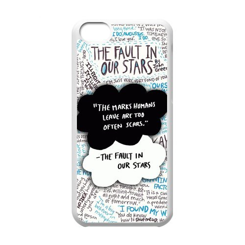 [The Fault in Our Stars Art Painting iPhone 5C Perfect Color Match Cover Case for Fans] (4 Star Dragonball Costume Color)