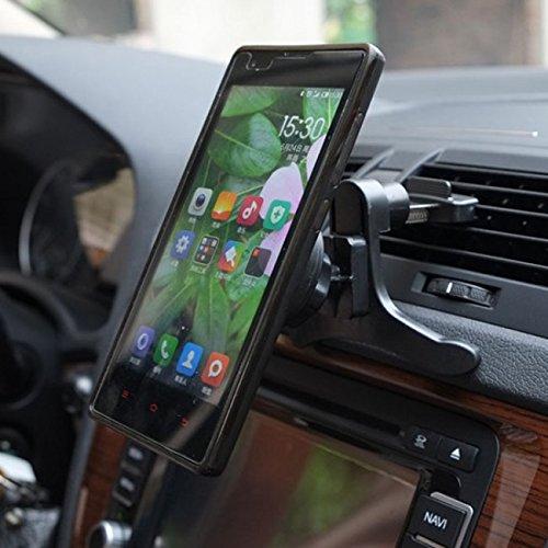 rotation portable magnetic car air