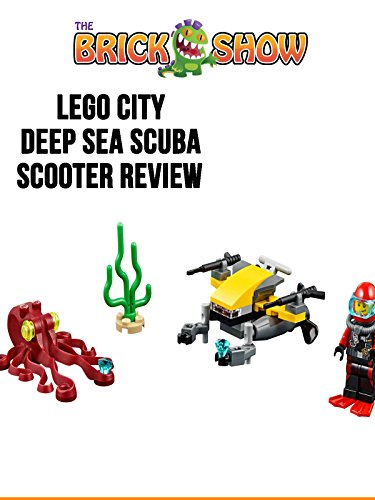 Review: Lego City Deep Sea Scuba Scooter Review