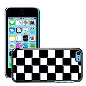 Print Motif Coque de protection Case Cover // M00154821 Antecedentes de tablero de ajedrez // Apple iPhone 5C