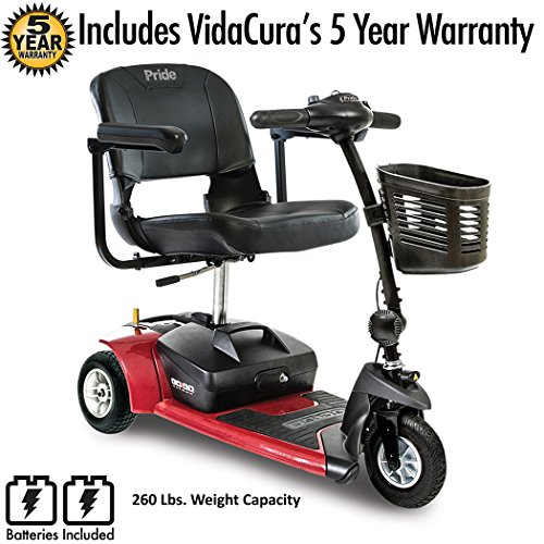 Go-Go Ultra X 3-Wheel Travel Mobility Scooter by Pride