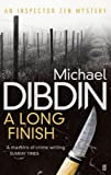 A Long Finish by Michael Dibdin front cover