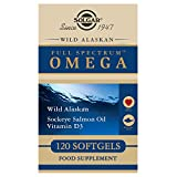 Solgar – Wild Alaskan Full Spectrum Omega, 120 Softgels