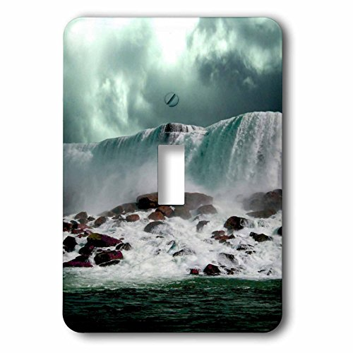 3dRose TDSwhite – Miscellaneous Photography - Travel Niagara Falls New York - Light Switch Covers - single toggle switch (lsp_285366_1) by 3dRose