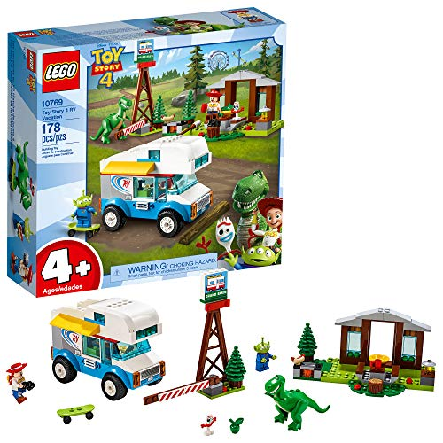 Pack 4 Legos - LEGO | Disney Pixar's Toy Story 4 RV Vacation 10769 Building Kit, New 2019 (177 Piece)