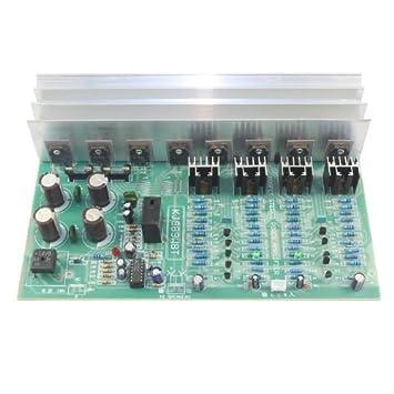 Diferencial ZFE Fet Transistor de efecto de campo circuito amplificador ca Dual 28 V con disipador de calor: Amazon.es: Bricolaje y herramientas